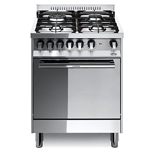 Lofra M66MF/C Cucina a Gas, Acciaio