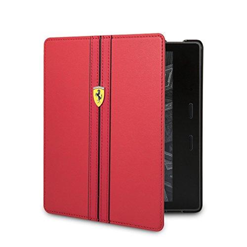 Ferrari Urban Funda para Kindle Oasis (9.ª generación - modelo de 2017), activación y suspensión automáticas, rojo