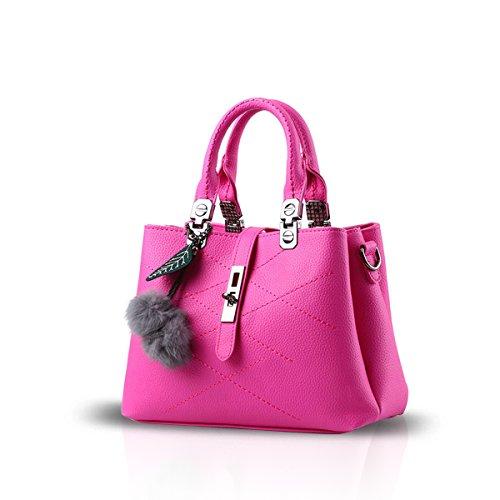 Nicole&Doris 2017 new wave packet Messenger bag ladies handbag female bag handbags for women(Rose)