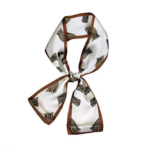 Hände 2 Haar-styling-creme (Square Head Schal, TTWOMEN Frauen Headwrap Twist Knoten Haarband Gedruckt Halstuch Turban Haar Zubehör Mode (D))