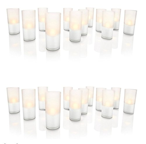 Philips Lámpara Philips Set De Velas De 24 Blanco Cálido
