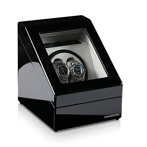 Designhütte Uhrenbeweger Monaco Schwarz - 2