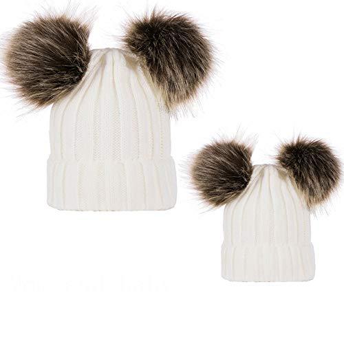 Pack de 2 Sombreros de Punto para Padres e Hijos
