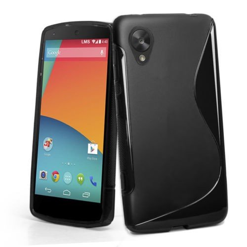 LG Nexus 5 Back Cover , Hybrid S-Line Matte Finish Back Cover Case  available at amazon for Rs.179