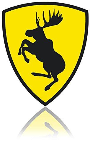 SKANDIX Aufkleber – Ferrari Elch