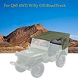 Mitlfuny Auto-Modell Plüsch Bildung Squishy Spielzeug aufblasbares Spielzeug im Freien Spielzeug,JJR / C Q65 2.4G 4WD 1:10 Fernbedienung Cabrio Willy Off-Road Truck Auto