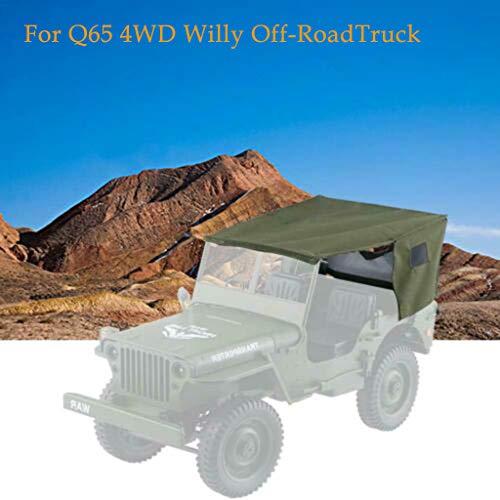 Plüsch Bildung Squishy Spielzeug aufblasbares Spielzeug im Freien Spielzeug,JJR / C Q65 2.4G 4WD 1:10 Fernbedienung Cabrio Willy Off-Road Truck Auto ()
