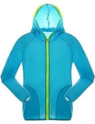Andux femmes Quick Dry Veste coupe-vent léger manteau en peau étanche de protection solaire FSY-01