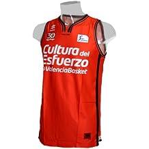 Camiseta de baloncesto oficial Valencia Basket. Liga Endesa 2016/17. 1ª Equipación (M)