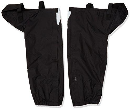 Erwachsene Kampfsport Bekleidung (Hock Regenbekleidung Erwachsene Fahrradgamaschen Gamas, Schwarz, 39-41,5, 16001)