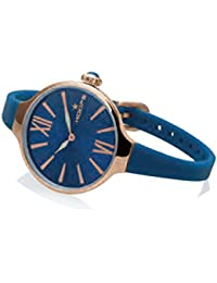 Uhr Damen Chérie Midi Gold Blau 2570lg-04–Hoops