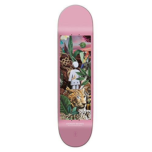 Skateboard Deck Girl Jungle Series Andrew Brophy 8.25
