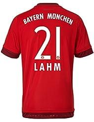 Trikot Adidas FC Bayern München 2015-2016 Home (Lahm 21, M)