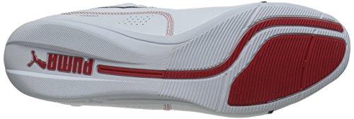 Puma Bmw Ms Drift Cat 6 in pelle Motorsport scarpe White/white