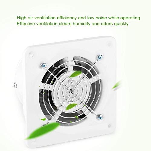para el hogar ventilaci/ón ba/ño 25 W 220 V Cocina Ventilador de ventilaci/ón para Pared con bajo Nivel de Ruido Garaje