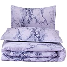 Altsommer La nueva funda de cama y la funda de almohada de tres piezas, impresa