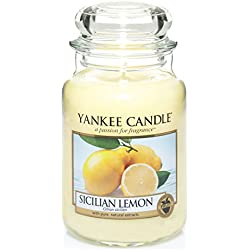 Yankee Candle 1230635E Sicilian Lemon Grosses Jar