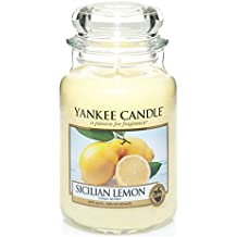 Yankee Candle Sicilian lemon 1230635E Candela profumata  Giara grande