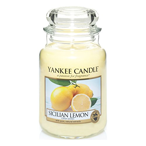 Vela Perfumada - Olor siciliana Limón - 22 oz