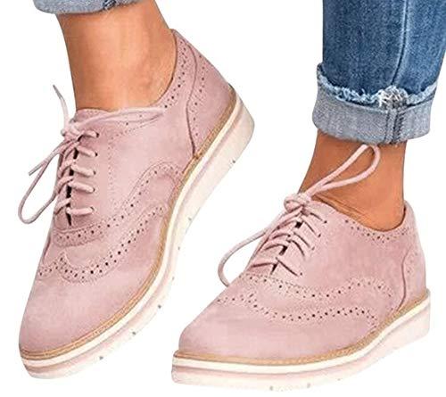 Caren Zapatos Planos Mujer Zapatos Deportivos Ligeros