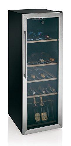 Hoover HWC 25360 DL Weinkühlschränke / B / 142 cm Höhe / 206 kWh/Jahr / mattschwarzer Korpus mit...