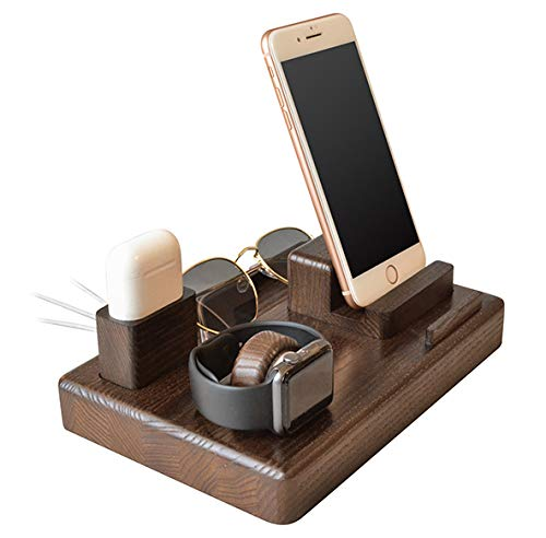 Soporte de Madera para teléfono móvil