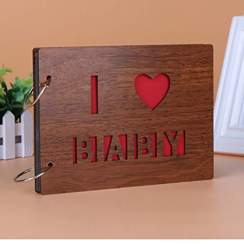 e lose Blatt eingefügt Fotoalbum personalisierte Baby Liebhaber DIY Hochzeit Memorial Fotoalbum ()