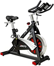 JOROTO Belt Drive Indoor Cycling Bike with Magnetic Resistance Exercise Bikes Stationary Bike (Model: X2)