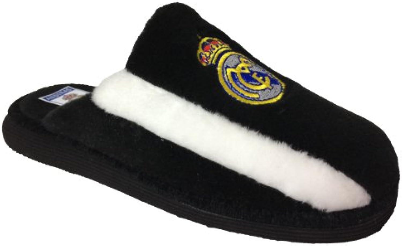 Zapatilla casa Real Madrid negra - En línea Obtenga la mejor oferta barata de descuento más grande