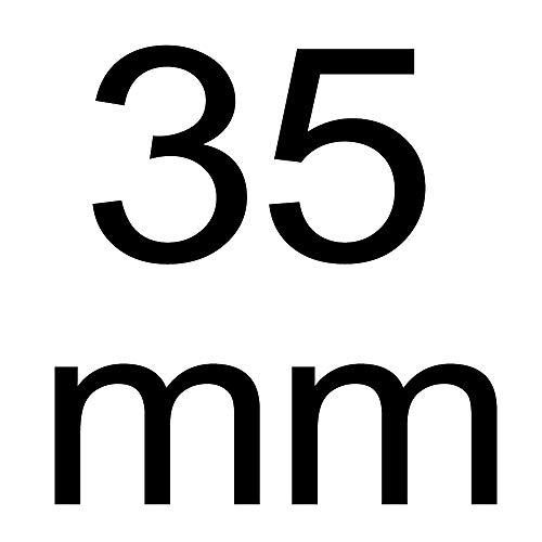 Lochsäge, EZARC Carbide Lochsägen Zahn Cutter, Profieinsatz geeignet für Bohren auf Edelstahl Metall, 35mm