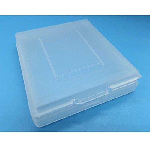Zhhlinyuan 20PCS Plastic Protective Cartridge Case Container fur GBC Nintend GameBoy Color Games 3701# De Li Container