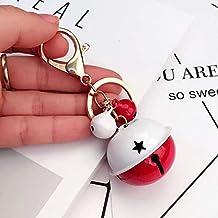 Bell Type Car Key Chain Handbag Keyring Women Men Key Chain Ring Bag Pendant