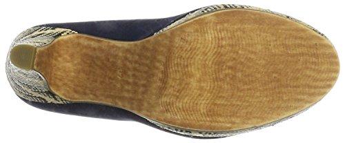 Marco Tozzi 22416, Scarpe con Plateau Donna Blu (Navy 805)