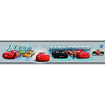 Checkered Flag Cars Nascar Wallpaper Border 9 Inch Red Edge