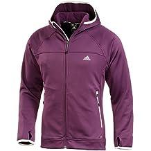 Adidas winterjacke lila