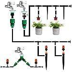 Emooqi Bewässerung Kit, 40M Garten Bewässerungssystem DIY Micro Automatische Gewächshaus Sprinkler Tröpfchenbewässerung…
