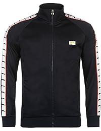 Slazenger Herren Retro Trainingsjacke Sweatjacke Jacke Taschen Zierblende