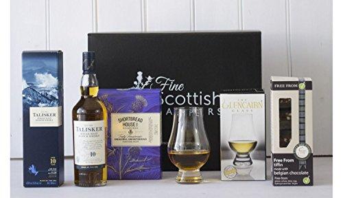 Scotch Whisky & Chocolate Hamper - Magnetic Box