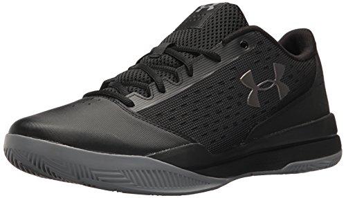 Under Armour Men's Jet Low Basketball Shoes, Scarpe da Basket Uomo, Nero (Black), 42.5 EU