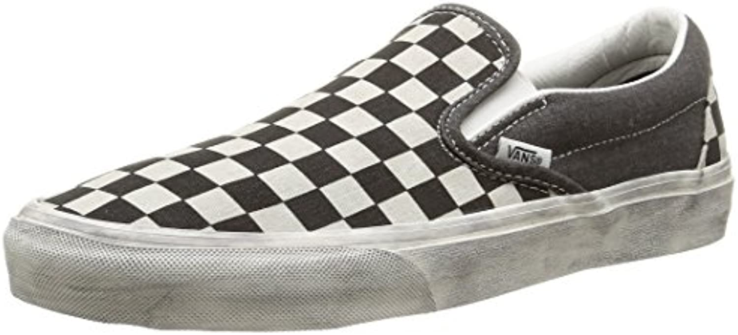 Vans U Classic Slip-on Overwashed - Zapatillas de Estar por casa Unisex Adulto -