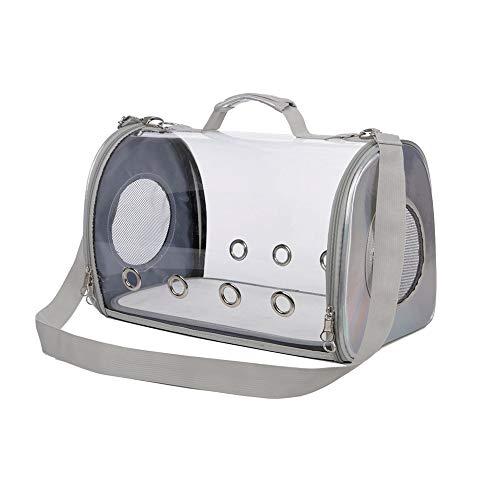 Pet-Paket, Raum Haustier Kabine voll transparent Katze Rucksack heraus Katze tragbaren Laptop, 44X25X28cm Leicht zu tragen (Color : A) -