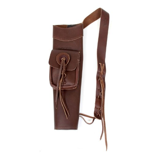 Martin Leather Back Quiver (Right Hand) by Martin Archery
