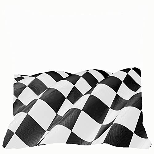 Finish Race Flag Backgrounds Textures Throw Pillows Covers Cushion Case Pillowcase Home Sofa Couch 18 x 18 Inches Pillowslips -