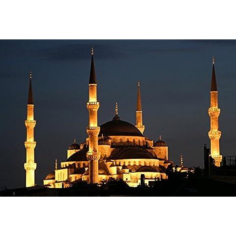 vinteja fotografia–sultan Ahmed moschea di Istanbul–Turchia