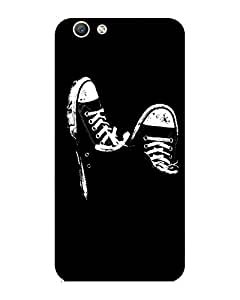 GripIt Sneakers Printed Case for Oppo F1s