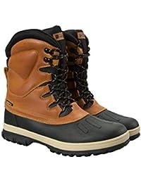 Mountain Warehouse Botas de Nieve Arctic Impermeables para Hombre - Calzado de Secado rápido, cálidas y de rápida absorción, Cordones Planos - para Nieve, Senderismo