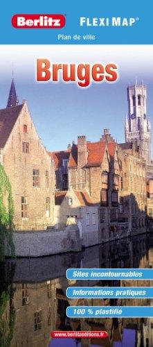 Plan de Bruges - Flexi Map plastifié par Berlitz