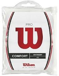 Wilson Pro Overgrip (Pack de 12) blanc - surgrips