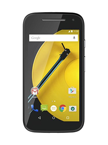"Moto E (2nd Gen.) - Smartphone libre de 4.5"" (Quad Core 1.2 GHz, 1 GB de RAM, 8 GB, cámara 5 MP, Android) color negro"