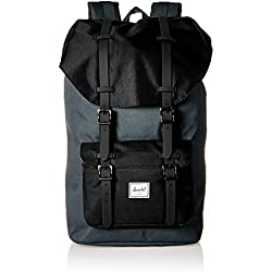 Herschel Supply Company SS16 Casual Daypack, 25 Liters, Dark Shadow/ Black/